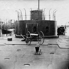 Cannon on Monitor's Deck American Civil War, American History, Steam Boats, Electric Boat, Unknown Soldier, Civil Wars, Confederate Flag, Navy Ships, I Cool