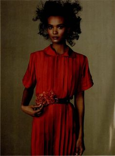 Vogue March 2010, Liya Kebede