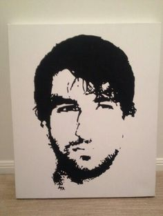 Commission artwork of Thomas Broich. Would look lovely gracing my walls.