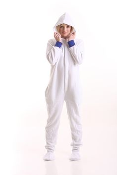 Tabatha Bedtime bear footed pajamas for adults