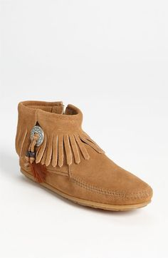 Minnetonka 'Concho Feather' Moccasin available at #Nordstrom