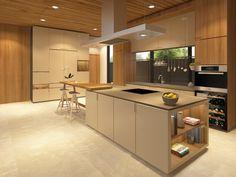 Dry Kitchen At Puri Indah Residence Designed By Studio Piu Interiordesign Studiopiu