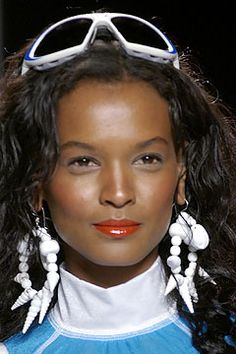 Liya Kebede beautiful model