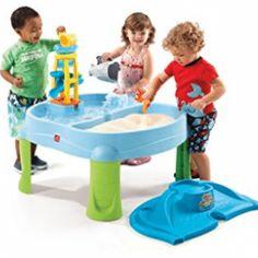 Splash N Scoop Bay Water Table Sandbox Sand Outdoor Play Kids Toys Toy for sale online Kids Water Toys, Water Play For Kids, Kids Sand, Kids Toys, Children Play, Autistic Children, Children Clothes, Best Water Table, Water Table Toy