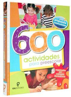 LIBROS: 600 ACTIVIDADES PARA PREESCOLAR Habilidades actitu...