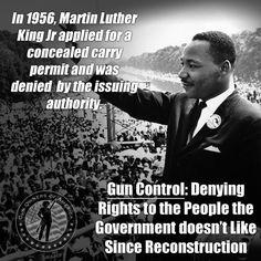 #MLK - also denied his #gun rights by the Govt - #2A #GOA #NRA #MolonLabe #PJNET #ccot #tcot #TGDN #RNR pic.twitter.com/5vnHNF7Kth