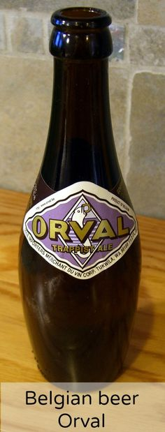 Curious about the history of Belgian abbey beer Orval? Click here to read more about the brewery, the bottles and the special glasses or pin and save for later.