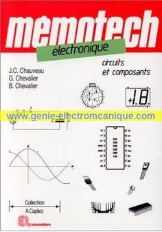 Télécharger Livre : Mémotech électronique.pdf ~ Cours D'Electromécanique