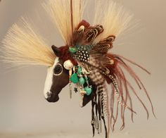 Handmade ornament.