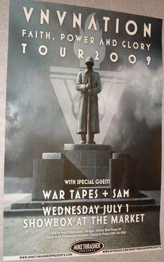 Vnv Nation poster concert $9.84