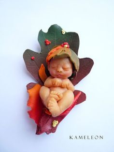 OOAK baby - polymer clay