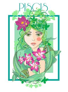 Pisces: the Fish. Virgo Moon Sign, Pisces And Capricorn, Pisces Girl, Astrology Pisces, Pisces Woman, Moon Signs, Pisces Zodiac, Zodiac Art, Zodiac Signs
