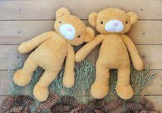 Plush Teddy Bear Stuffed Animal Bear Plushie by IrinaMargarita