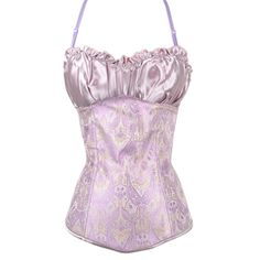 We think our pink corset top with an old-fashioned paisley design is a great idea for when you're spending some quality time with the one you love. The main body of the corset has been beautifully designed by our top corsetieres with a pretty paisley pattern covering the main body and a stunning satin style covering around the bust.   This corset comes with adjustable straps and works perfectly as lingerie. If you're feeling racy, then couple it with a pair of skinny jeans for an…