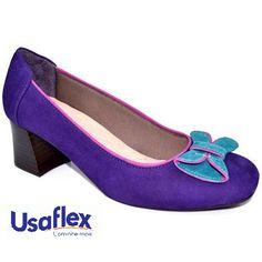 Sapato Usaflex - www.rochelliloja.com.br
