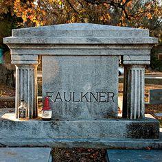 Pay Homage at Faulkner's Grave