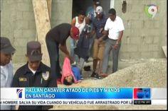 Fue Hallado el Cadáver de un hombre colgado de pies y mano en Gurabo Santiago