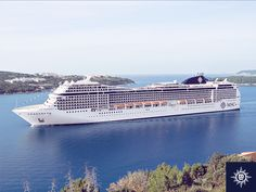Msc Magnifica, Msc Cruises, Opera House, Building, Water, Cruise Ships, Boutiques, Travel, Vehicles