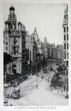 Avenida del Marquès de Sotelo.. Valencia