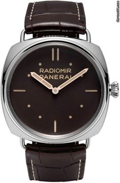 Panerai Special Editions Radiomir 3 Days Platino 47mm $33,000 #Panerai #watch #watches #chronograph