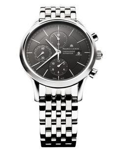 Men watches : Maurice Lacroix Les Classique Men's Automatic Chronograph Watch LC6058-SS002-330