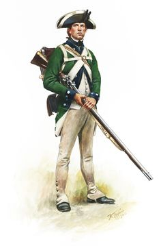Prince of Wales Loyalist Pvt. Summer 1780
