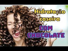 HIDRATAÇÃO CASEIRA,CABELOS CACHEADOS COM CHOCOLATE