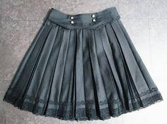 アクシーズファム☆スカート 黒 ブラック☆axes femme☆新品_画像1