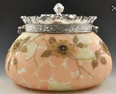 Antique Biscuit Jar 1880