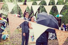 Inspire Wedding | Festival | Fabric bunting