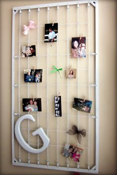 reuseful way to hang your pictures
