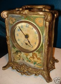 Oh! If only....beautiful Mucha clock!!! Anyone with an extra $750 laying around should go for it!!!