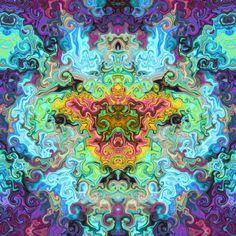 Psychedelic Tattoos, Psychedelic Art, Hippie Trippy, Spiral Art, Sacred Plant, Sacred Geometry Tattoo, Visionary Art, Flower Mandala, Fibonacci Spiral