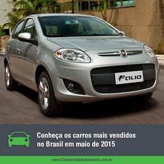 Conheça os carros mais comercializados no Brasil no último mês de maio e aproveite para programar a compra do seu pelo consórcio: https://www.consorciodeautomoveis.com.br/noticias/os-carros-mais-vendidos-no-brasil-em-maio-de-2015?idcampanha=206&utm_source=Pinterest&utm_medium=Perfil&utm_campaign=redessociais