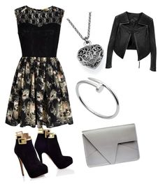 """""""Good girl"""" by ruvarashe-mambo on Polyvore featuring Mela Loves London, Cartier and Linea Pelle"""