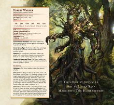Forest Walker by Phylea