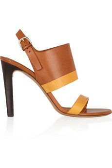 Chloé - Two-Tone Leather Sandals