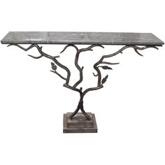1930s twig table, italian antiques dealer, Flair