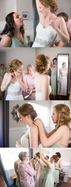 Cute Bride Getting Ready Photo Ideas | Lakewood CO Wedding Photographer | Colorado's Best Wedding Photographer | Bear Creek Lake Park | Simple Colorado Wedding | Lucy Schultz Photography