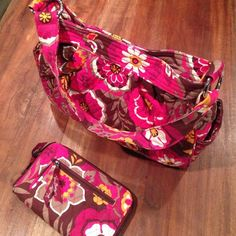 Vera Bradley Carnaby Tote &wallet/wristlet bundle. Vera Bradley Carnaby Reversible tote. With matching zip wallet/wristlet. On one side, it displays your Vera Bradley pattern of choice. Flip it inside out, and the lining takes center stage. Silver logo rings accentuate bag; Two side pockets inside and out - no matter how you flip it! Magnetic closure works either way. (Selling for family member). NWOT. Vera Bradley Bags Totes