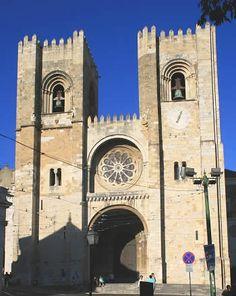 Catedral de Lisboa. Portugal