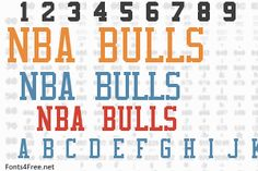 NBA Bulls font, aka Chicago Bulls font is a fancy, old-school font designed by Eriq P. NBA Bulls font is free for both personel and commercial usages. Old School Fonts, Nba Bulls, Iphone Wallpaper, Bow, Graphic Design, Ideas, Arch, Wallpaper For Iphone, Onions