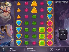 In Dungeon Quest Slot, get ready to dig out the gems and help the knight, the Viking, the Elf, and the Sorcerer to win this quest designed by NoLimit City Dungeon Quest, Free Slots, The Elf, Slot Machine