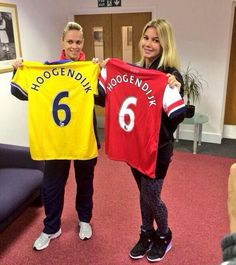 Arsenal have finally delighted fans with a new signing – but it's new Ladies' Team arrival Anouk Hoogendijk who is making waves across socia...