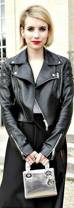 Street style - Emma Roberts