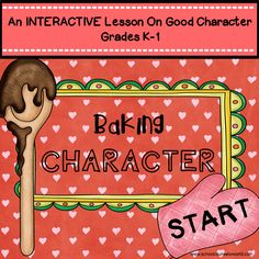 INTERACTIVE guidance lesson on having good character for Grades K-1. NEVER create another guidance lesson again with our aligned ASCA K-6 guidance lessons! We\'ve got more GUIDANCE LESSON Plans, all which are aligned for grades K-6! Each lesson plan has a Word doc for each grade level and a PDF that includes all interactive activities and printables. Decision-Making | Elementary Guidance Lessons | School Counselor #Character #Friendship #Getting #Along #Lessons #K-6 #Elementary