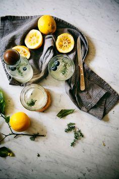 thyme lemonade - Hummingbird High - A Desserts and Baking Food Blog in San Francisco