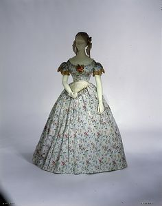 Evening Dress, 1850s | In the Swan's Shadow