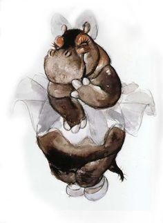 Hyacinth Hippo.