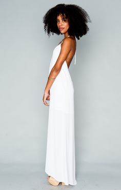 Erlyn Maxi Dress - White Crisp | Show Me Your MuMu